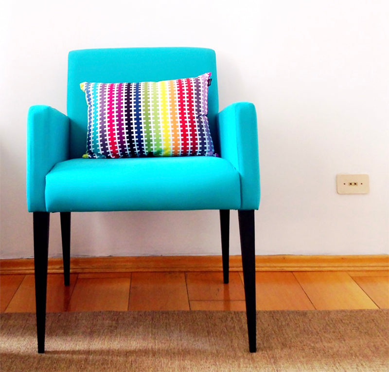 Upcycle Your Chair With Linens - For Real