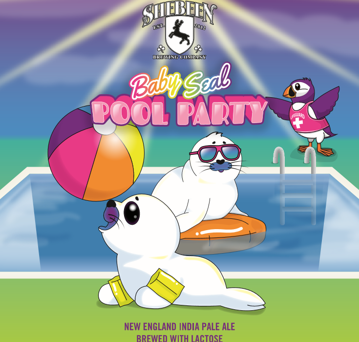 Baby Seal Pool Party - 1/6 bbl Log