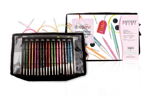 Knitter's Pride Dreamz Interchangeable Circular Needle Deluxe Set