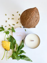 Load image into Gallery viewer, FRESH HERBS & DARK COCONUT - 7 OZ- SPRING/SUMMER COLLECTION