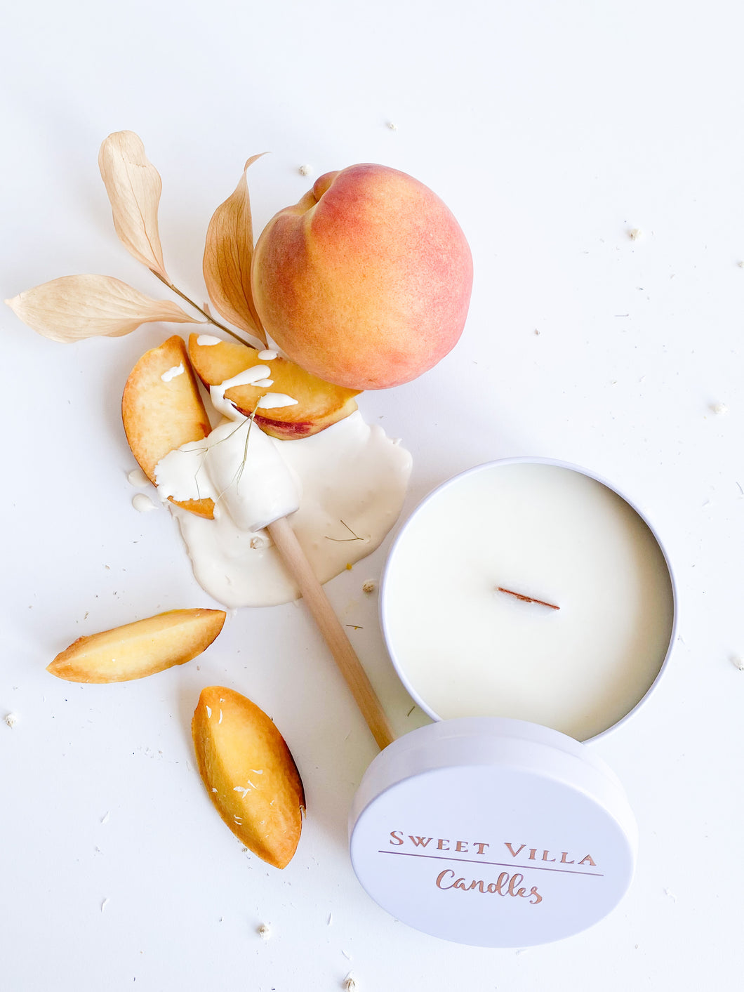 PEACHES & CREAM - 7 OZ- SPRING/SUMMER COLLECTION