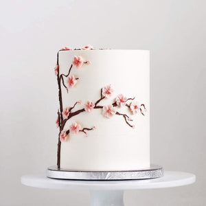 Buttercream Cherry Blossoms