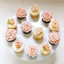 Load image into Gallery viewer, Assorted Buttercream Flower Cupcakes