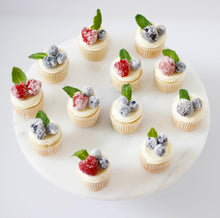 Load image into Gallery viewer, Sugared Berry Cupcakes
