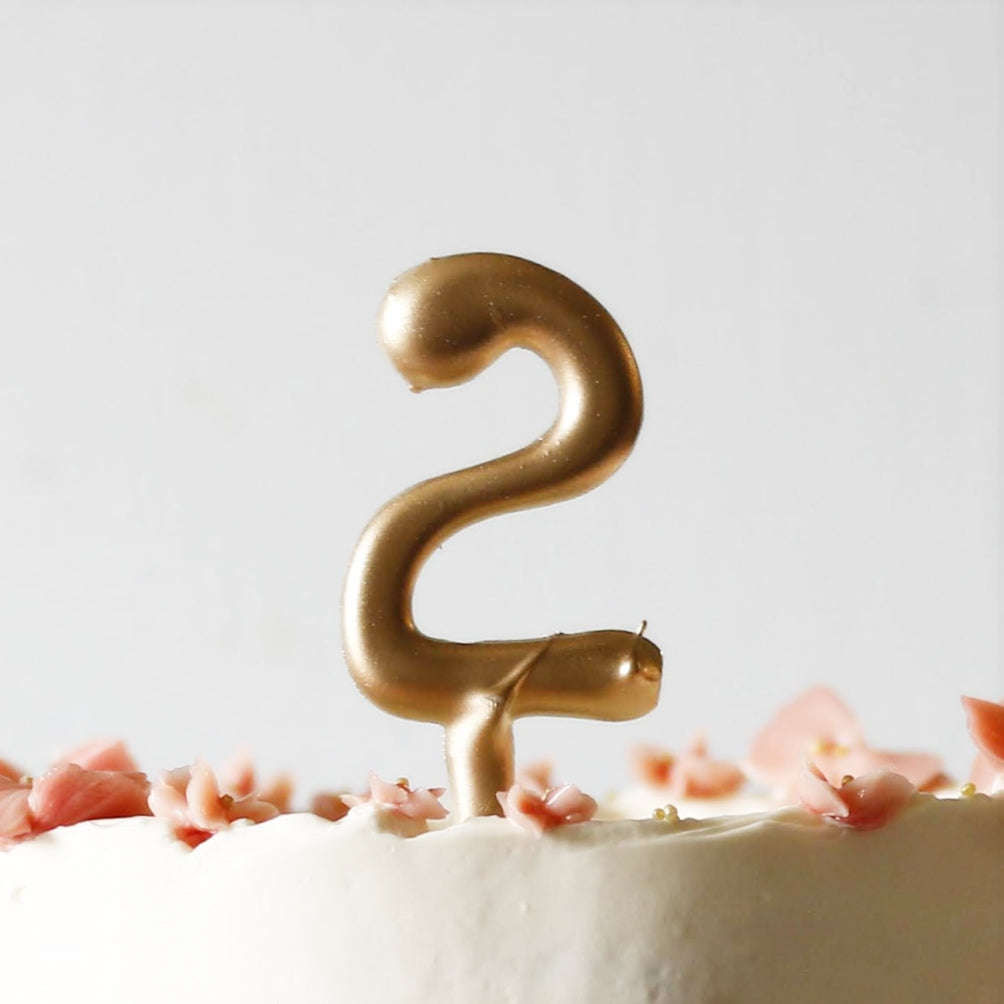 Chocolate Number Topper