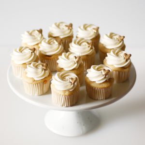 Hearts of Gold Cupcakes