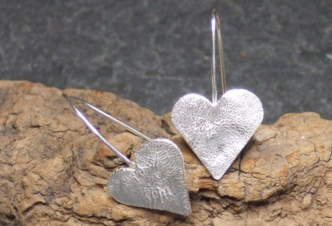 Small Sterling silver heart