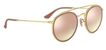 Afbeelding in Gallery-weergave laden, Ray Ban Round Double Bridge 3647 001/7O