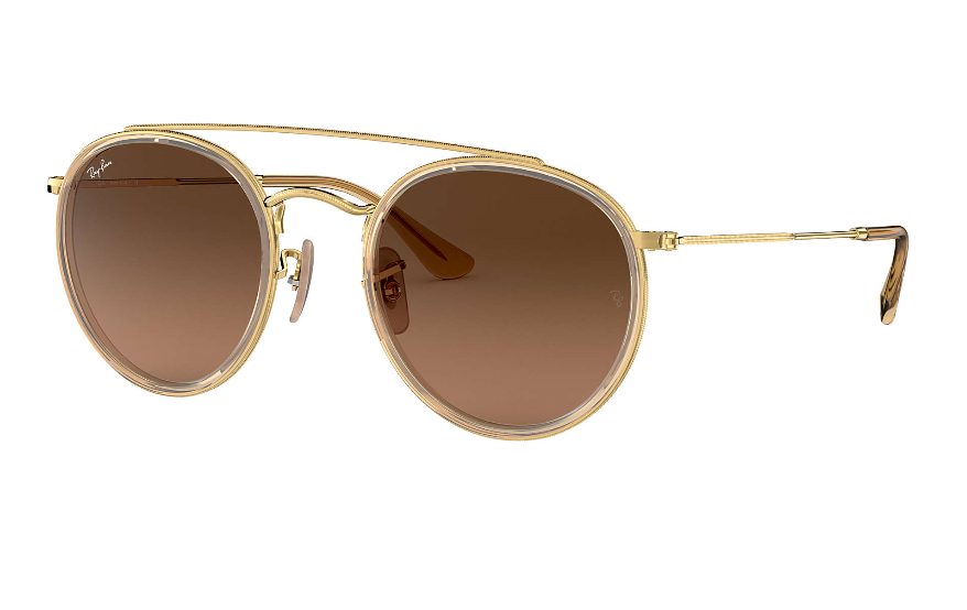 Ray Ban Gold/brown