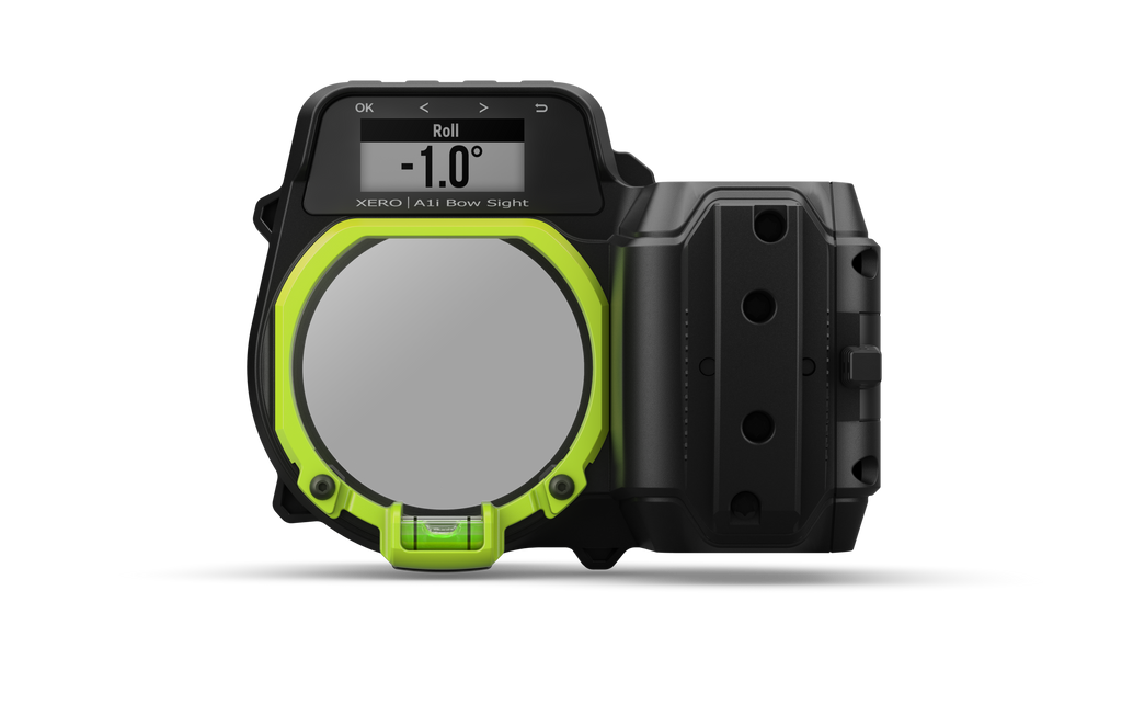 Garmin Xero™ A1i Bow Sight, Left-handed Auto-ranging Digital Sight with Dual-color LED Pins