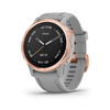 Garmin fēnix® 6S Pro, Rose Gold-tone with White Band