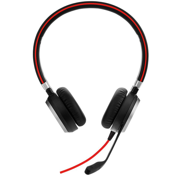 Headset Jabra EVOLVE 40 UC Duo USB