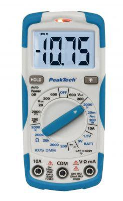 Multimeter PeakTech 1075 | Digital