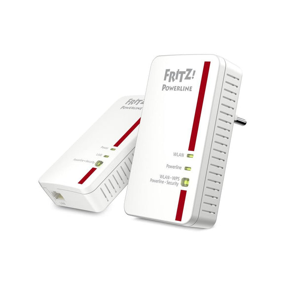 PowerLAN | 1200Mbit/s | WLAN 300Mbit/s | AVM Fritz!Powerline 1240E WLAN Set