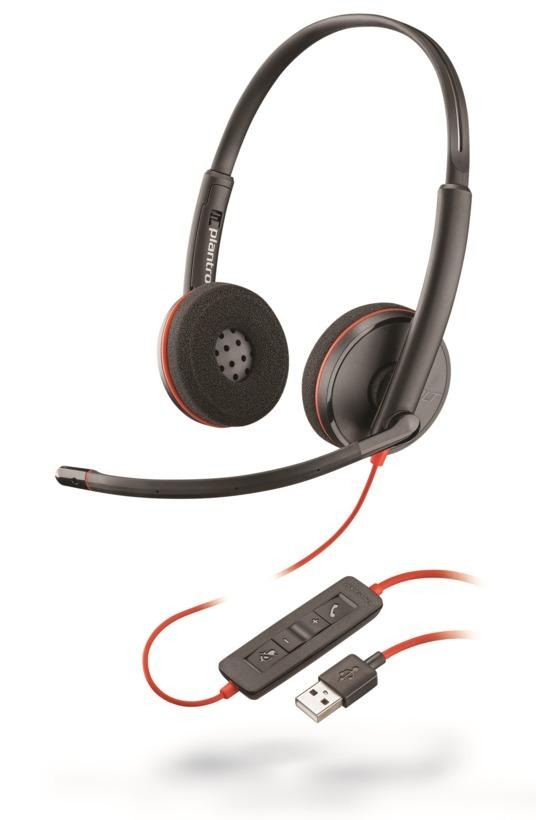 PC-Headset USB-A | Stereo | Poly 3220