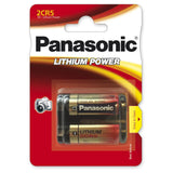 2CR5 | 6V | Lithium | 1400mAh | Photobatterie | Panasonic