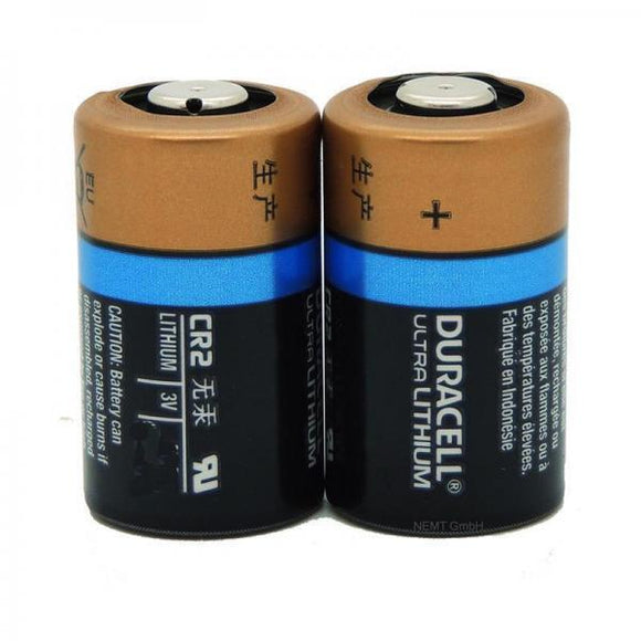 CR2 | 3V | Lithium | 900mAh | 2er Pack | Duracell CR17355