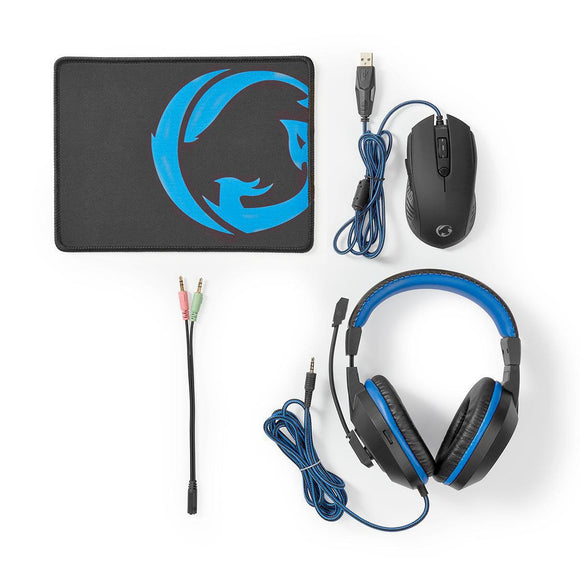 PC-Kit | 3-in-1 | Headset | Maus | Mousepad