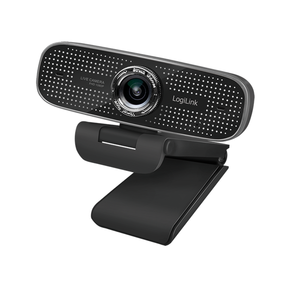 Webcam 1080p HD LogiLink manueller Fokus
