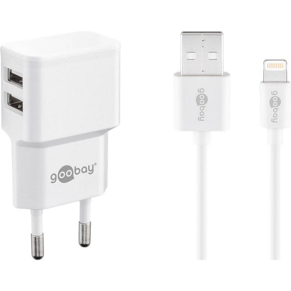 Apple Lightning Ladeset 2,4A