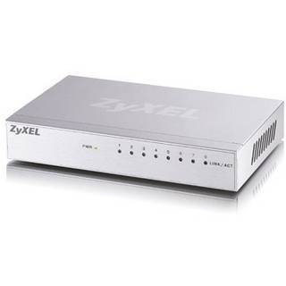 Switch 8 Port 1GBit/s Zyxel GS-108B,Metallgehäuse
