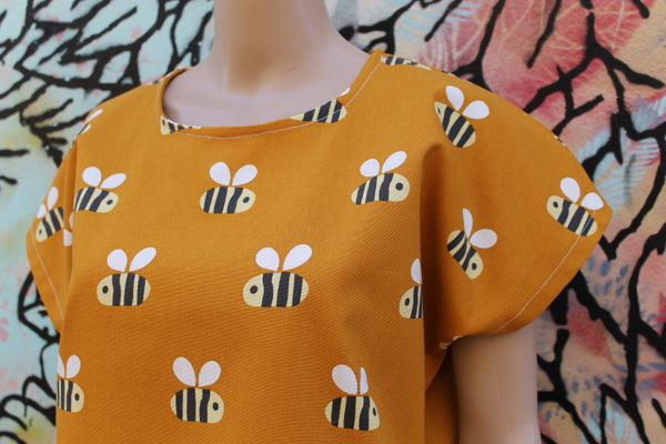 Bumble Bee Boxy Top