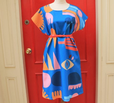 Abstract Everyday Dress