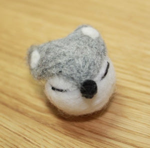 Fox Felt Badge