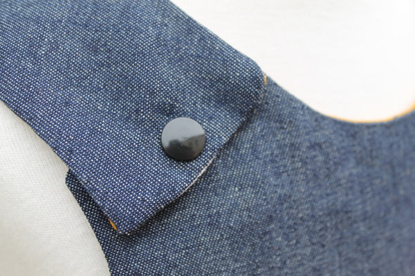 Sloth Denim Pinafore