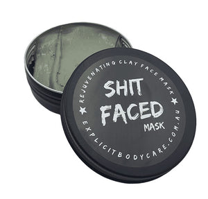 Shit Faced -Face mask