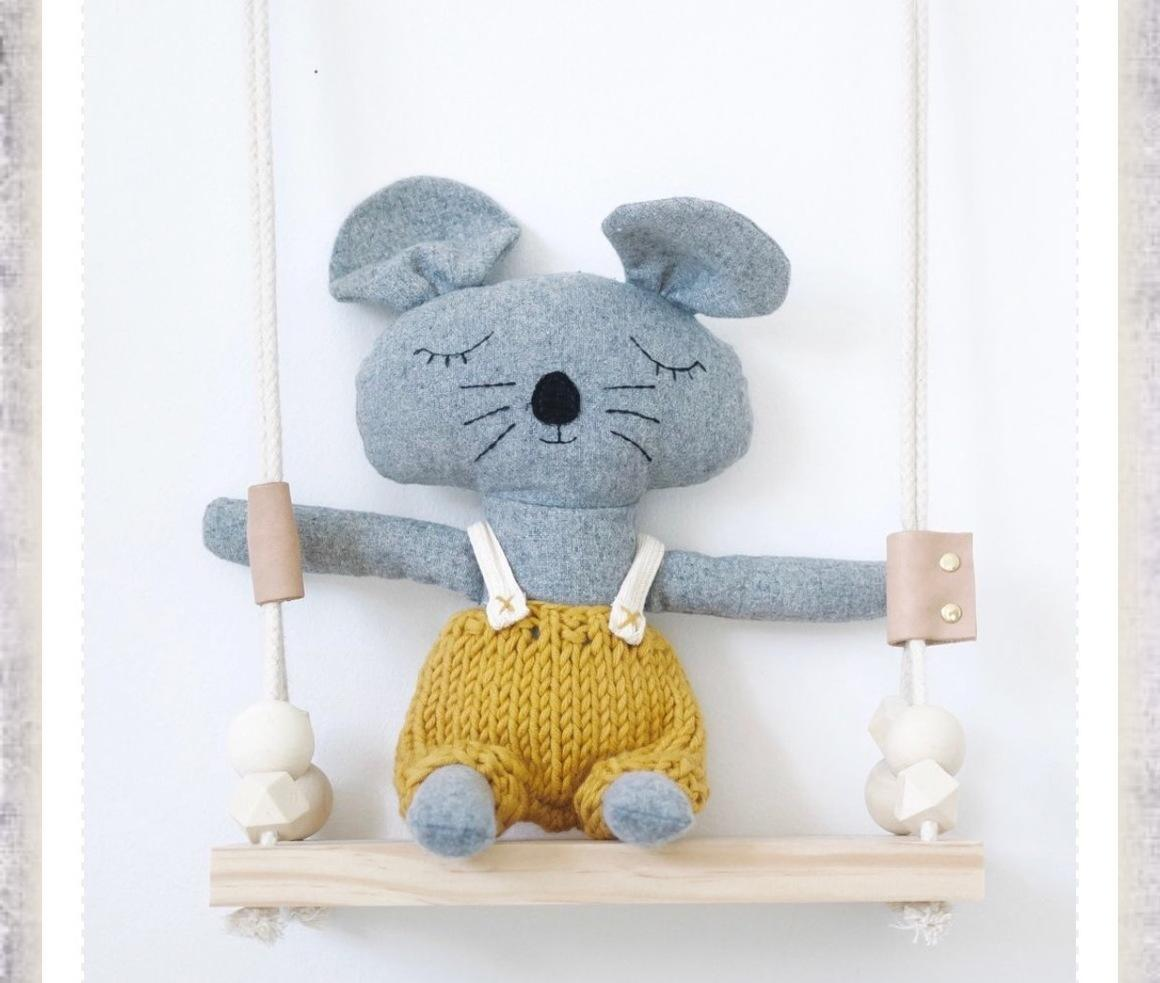 Charlie the Mouse Soft Toy