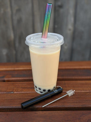 Collapsible Bubble Tea Straws