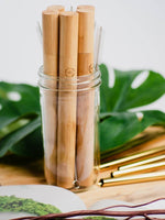 Bamboo Bubble Tea Straw Case