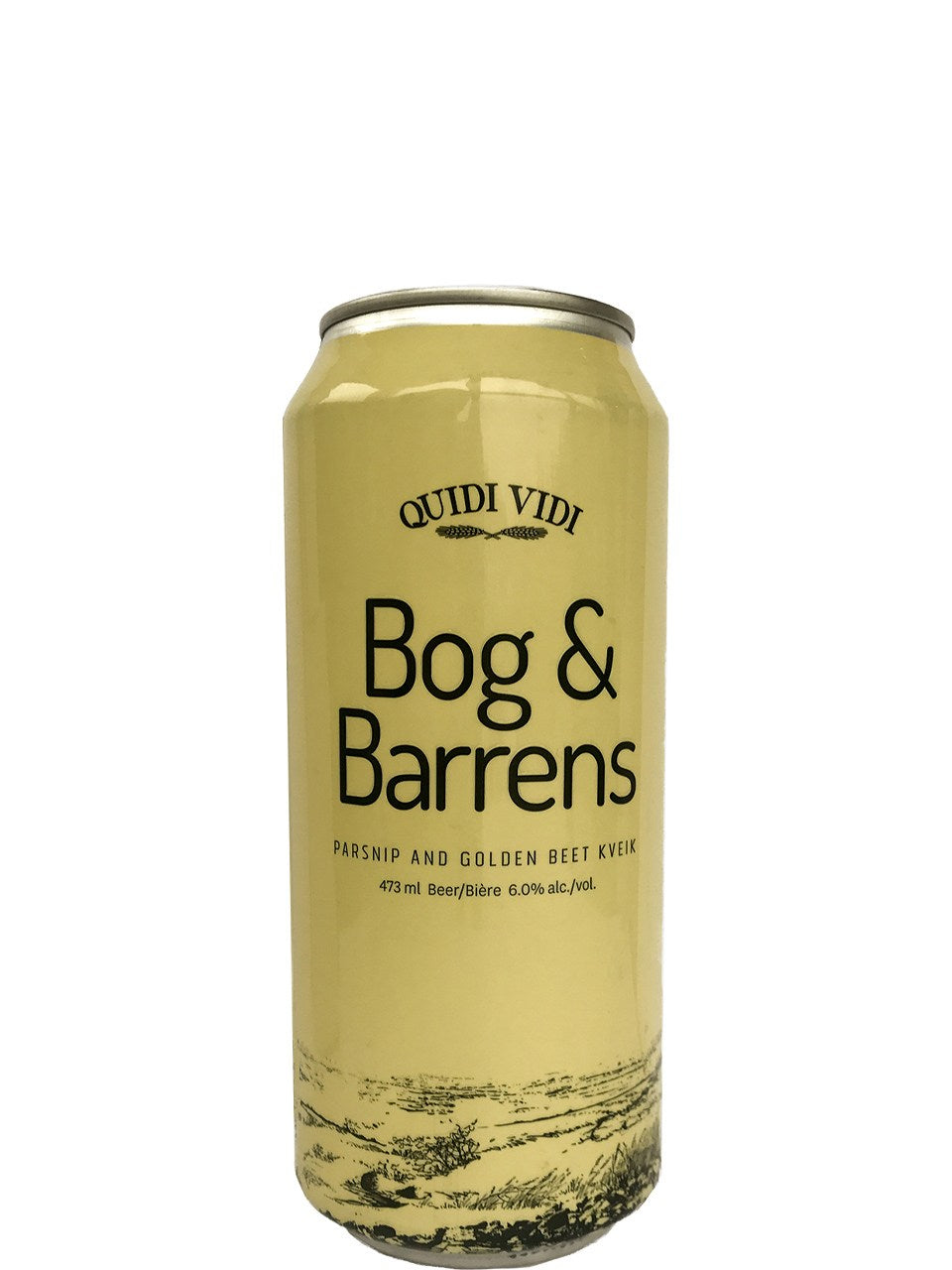 Bog & Barrens Parsnip&Golden Beer Kveik 473 ml Can