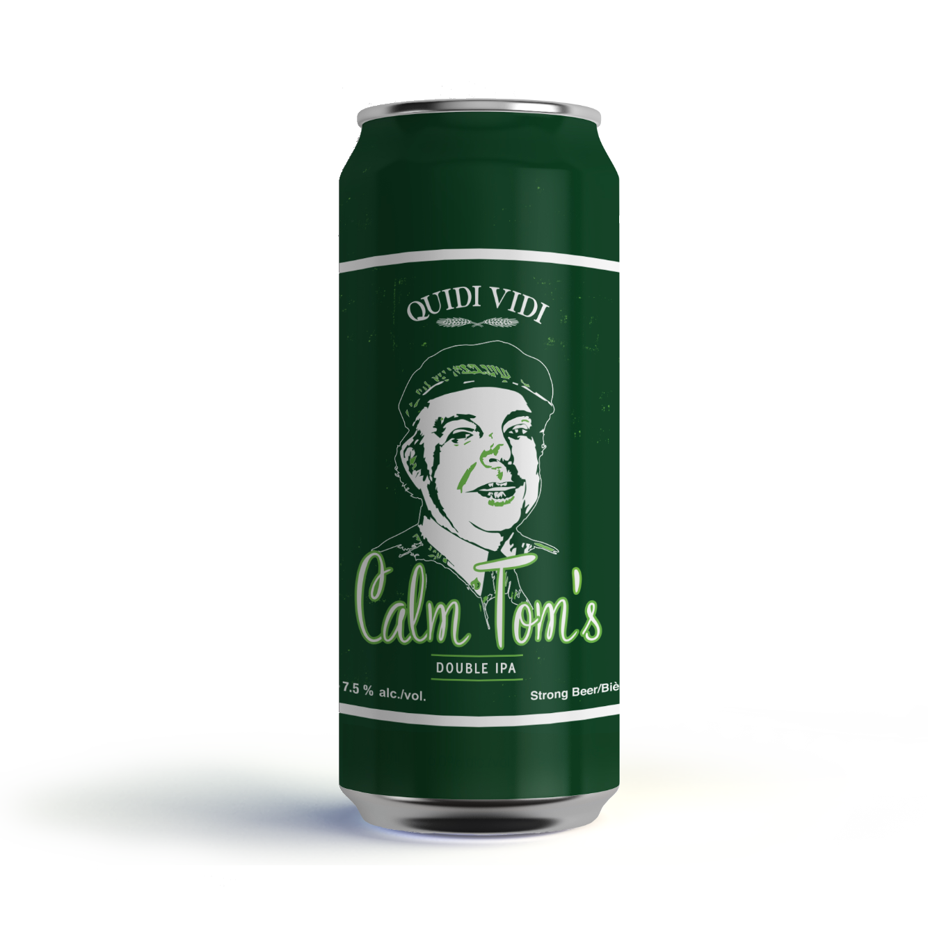 Calm Tom's Double IPA 473ml Can (Home Delivery)
