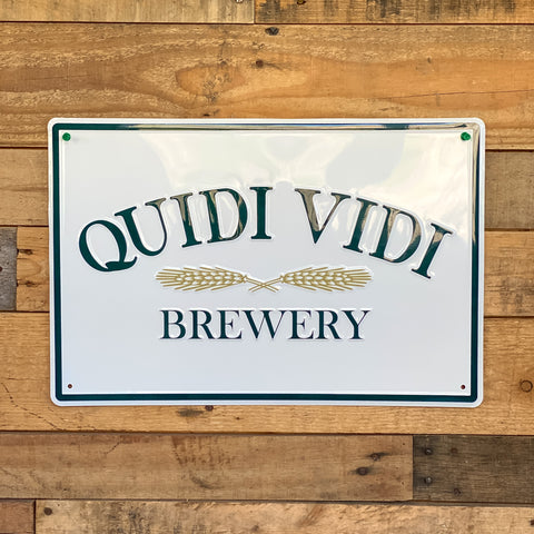 Quidi Vidi Brewery Tin Tacker