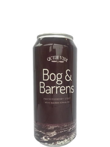 Bog & Barrens Partridgeberry Stout 473ml Can