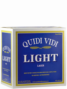 Quidi Vidi Light 6 Pack Bottles