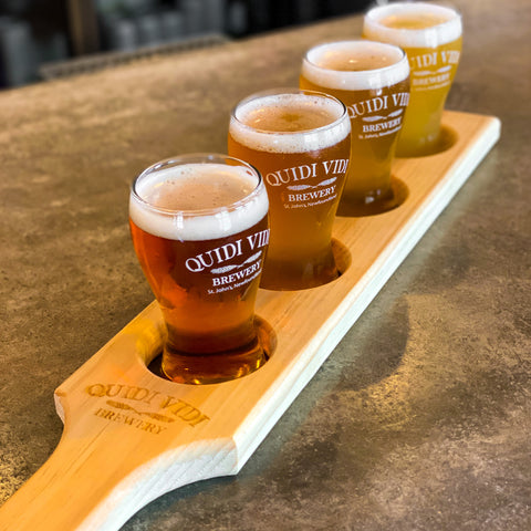 Beer Flight - Paddle & Glassware