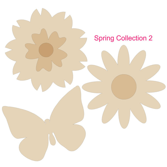 Spring Collection Bundle - 3 signs up to 6