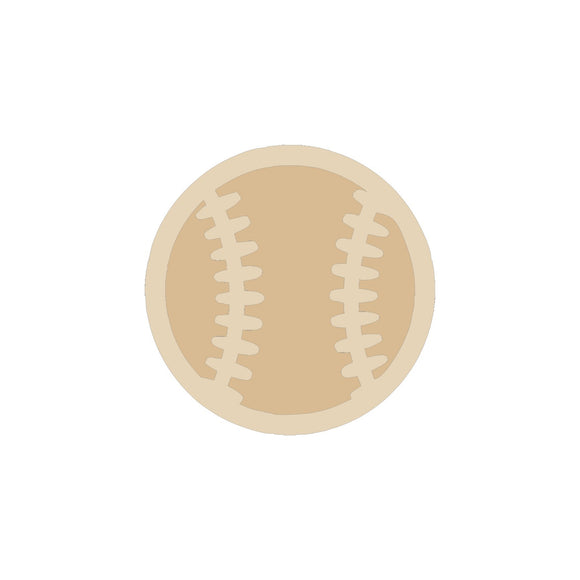 Baseball Cutout (2 pieces) - 6