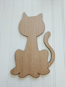 "Black Cat Blank - 6"" up to 20"""