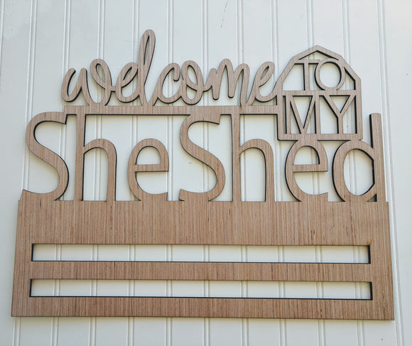Welcome To My She Shed Rail - 20