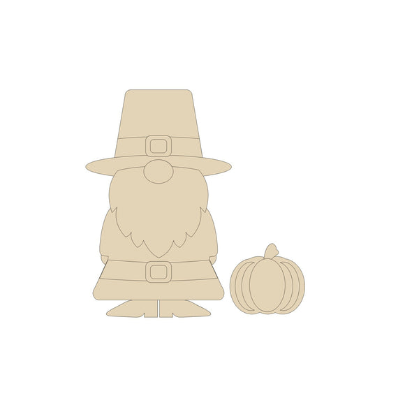 Thanksgiving Pilgrim Gnome - Various Sizes with tutorial