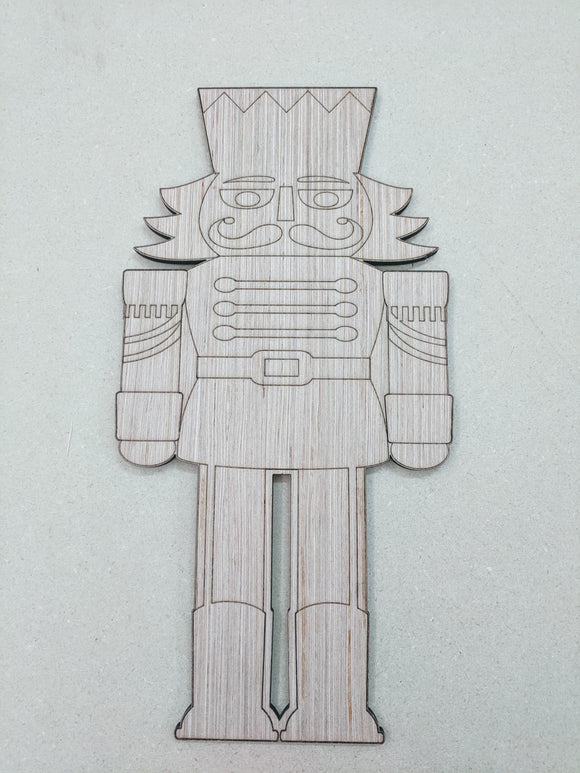 Nutcracker Wood Cutout #1 - 6