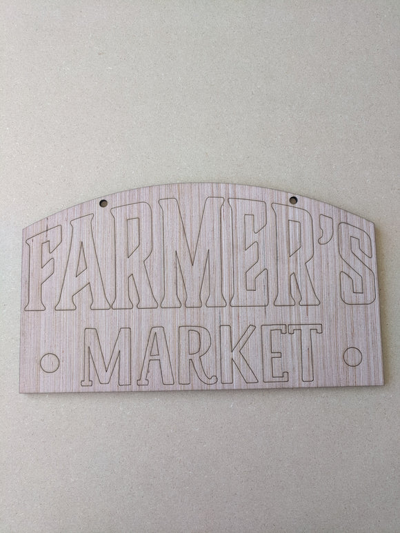 Farmers Market Sign - 6