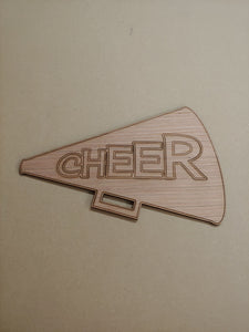"Cheer Horn - 6"" up to 20"""