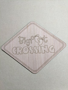"Bigfoot Crossing - 6"" up to 20"""