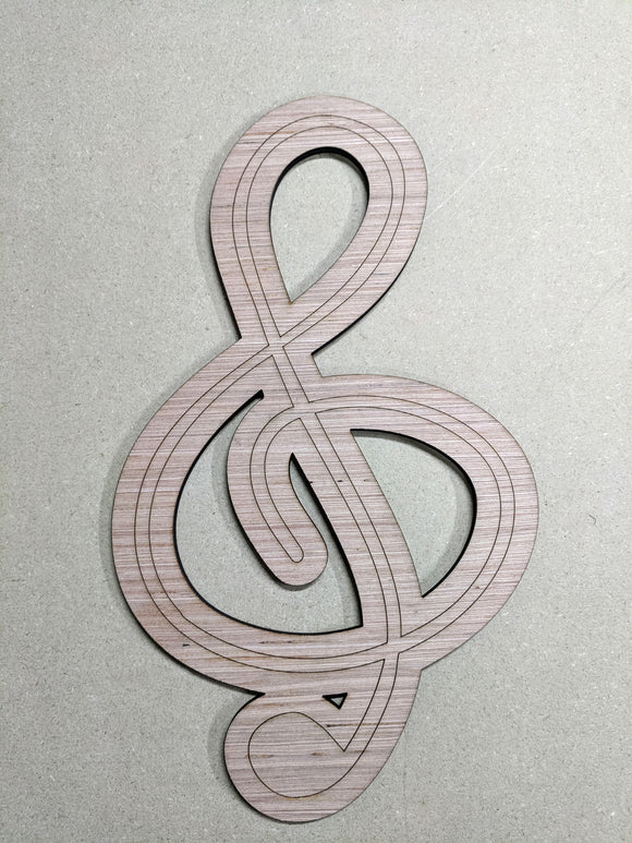 Clef Music Note - 6