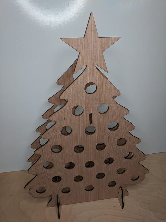 Wine Bottle holder - Christmas Tree